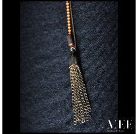 africa detail - Collier by Mee